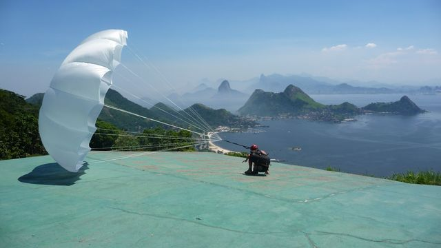 23 Feb 2009<br>Every six months it is advisable to unfold the parachute to prevent mold and sizing of the parties. That's it. <br> Niteroi, Rio de Janeiro, Brazil