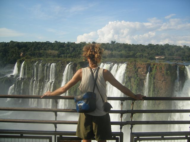 25 Mar 2009<br>View of the Iguaçu Falls on the Argentine side. We have before us Brazil. <br> Iguazu Falls, Parana, Brazil