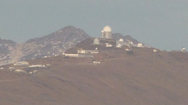 05 Jul 2009<br>Chile is home to the observatory atronomiques the most high and mighty of the world. The sky here is an extraordinary purity. Here we see the La Silla Observatory. <br> Atacama Desert, Chile