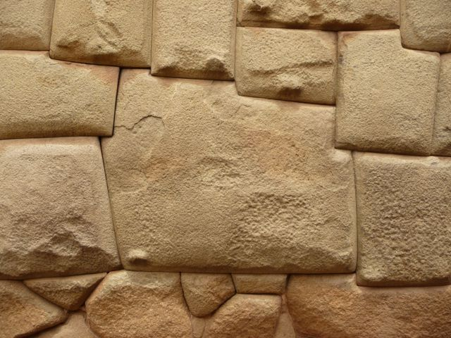 "17 Oct 2009<br>The famous ""stone angles 12"" carved by the Incas. It demonstrates the architectural skills of the Incas to build stone walls, using no mortar joints or to assemble pierres.Cusco, Peru"