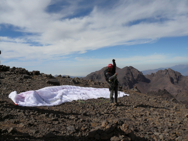 17 Sep 2008<br>In the middle of preparing the launch of Toubkal.