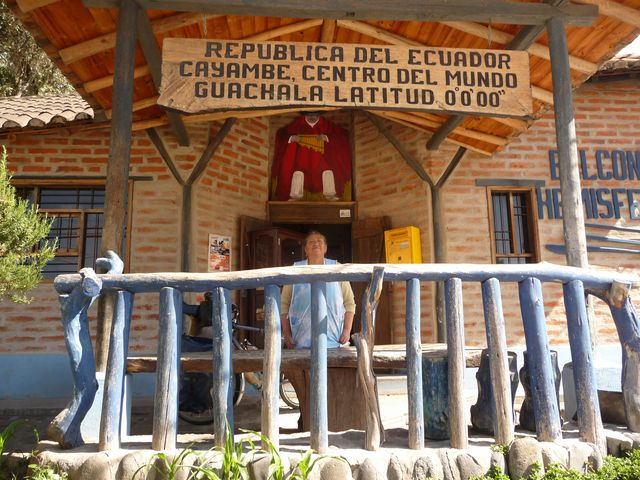 14 Dec 2009<br>This restaurant-style tourist traps offer me a meal at a friendly price, and accommodation for nothing. Here in Cayambe, they s'enorgueillent to be the center of the world altogether! Ben would like, I thought it was my navel me Cayambe, Equateu