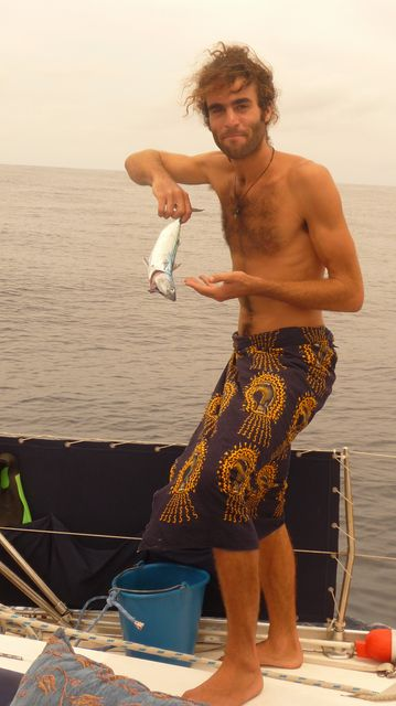 MaWouaaaaa the big catch! Jsea, Pacific from Panama - Galapagos