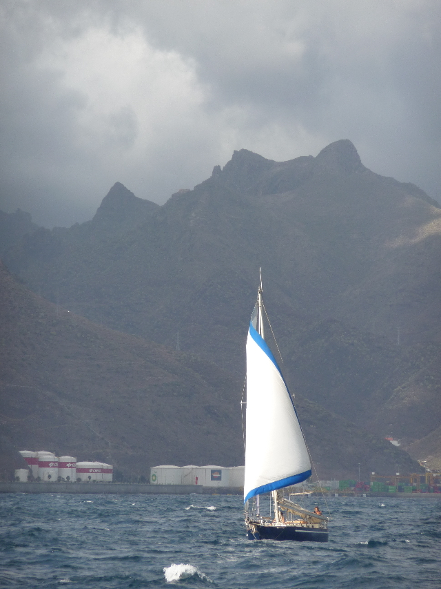 "16 Oct 2008<br>Tenerife, Gran Canaria Islands CanariesPour remember that sailing is primarily a means of transportation design. ""What is beautiful in a sailboat is that nothing is done for aesthetic"" (a type of writing has many ac)"