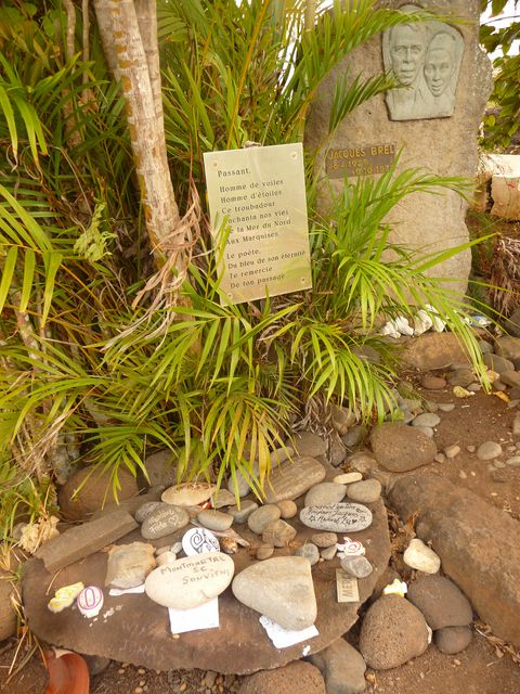 05 May 2010<br>Jacques Brel is buried not far from where Paul Gauguin.Iva Oa, Marquesas Islands
