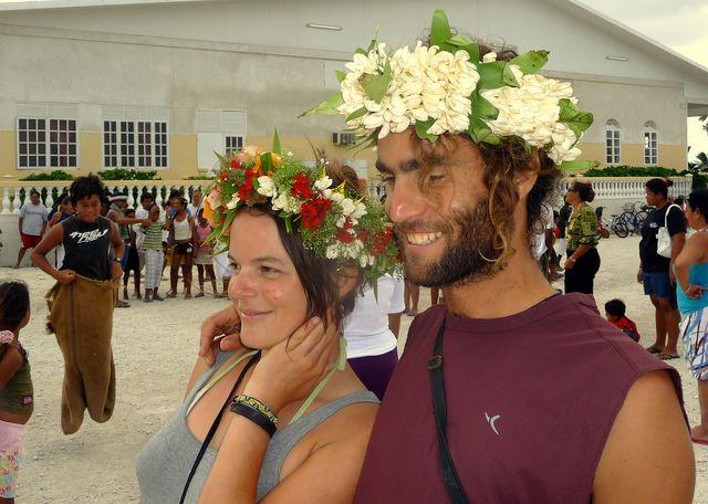 14 Jul 2010<br>Fleurs.Makemo crowns, Tuamotu Archipelago.